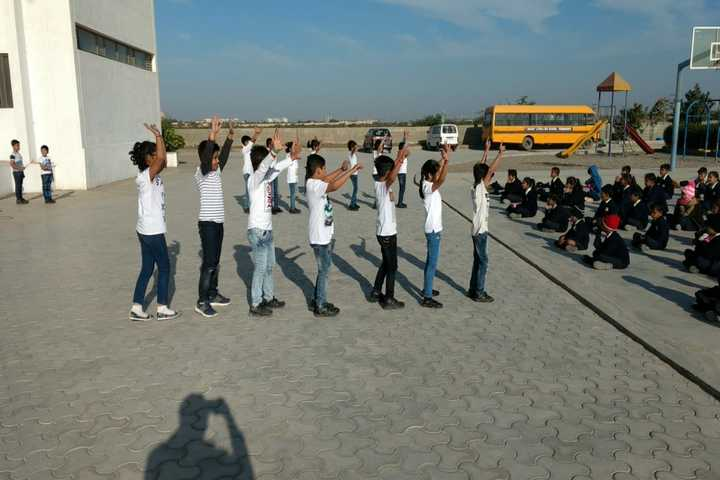 Mount Litera Zee School-Dancing Activity