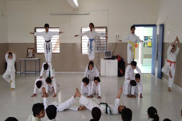 Mount Litera Zee School-Karate Activity