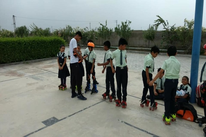 Mount Litera Zee School-Skating Activity