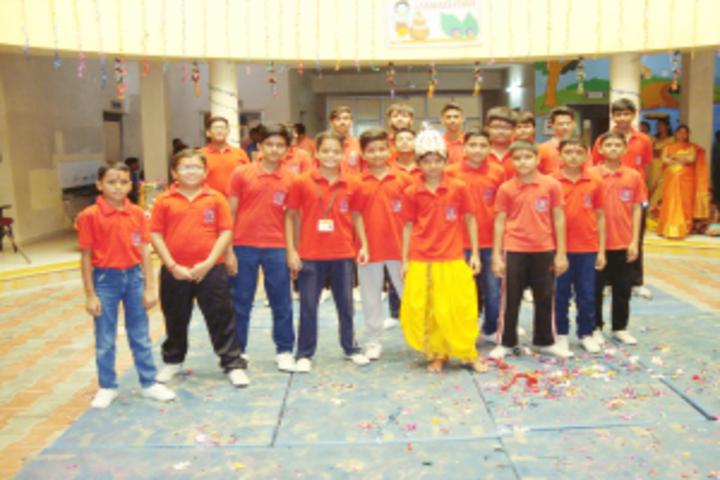 N.G.International School-Janmastami
