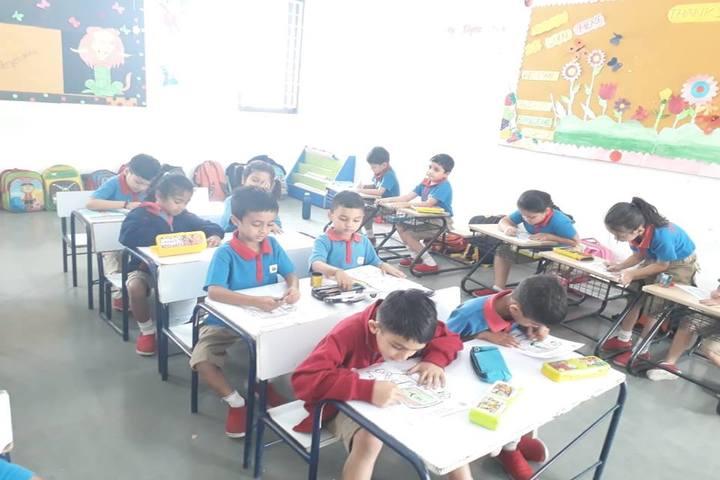 Narmada Calorx Public School-Classroom