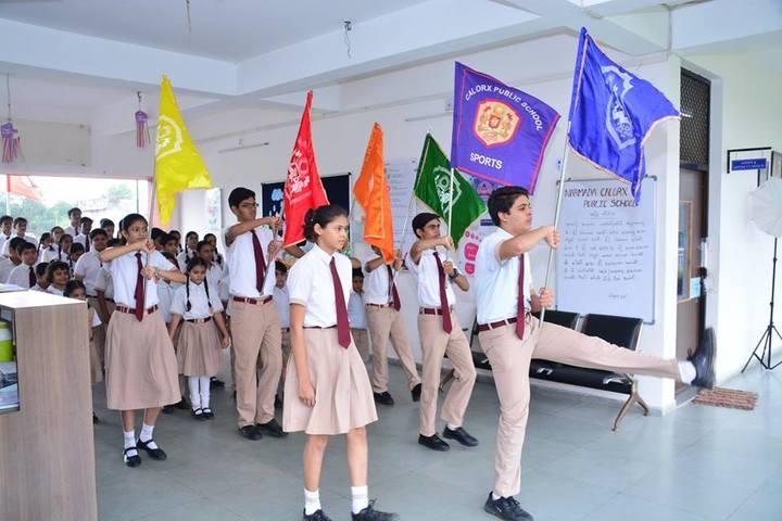 Narmada Calorx Public School-Sports day