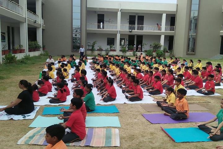 Narmada Calorx Public School-Yoga