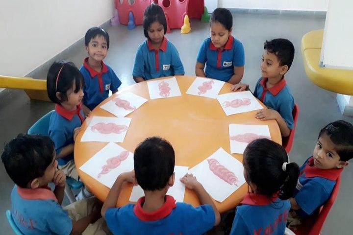 Narmada Calorx Public School-Activity