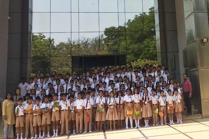 Narmada Calorx Public School-Students