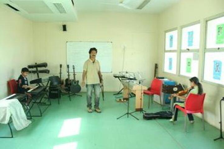 Navrachana International School-Music Room