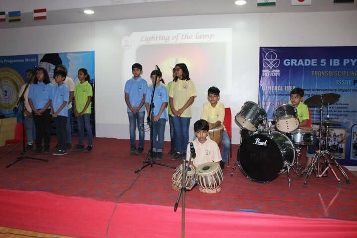 Navrachana International School-Music