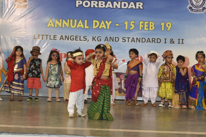 Dancing Activity on Annual Day Celebration