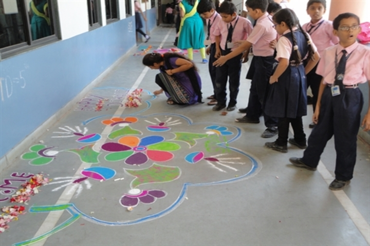 New Era Academy-Rangoli