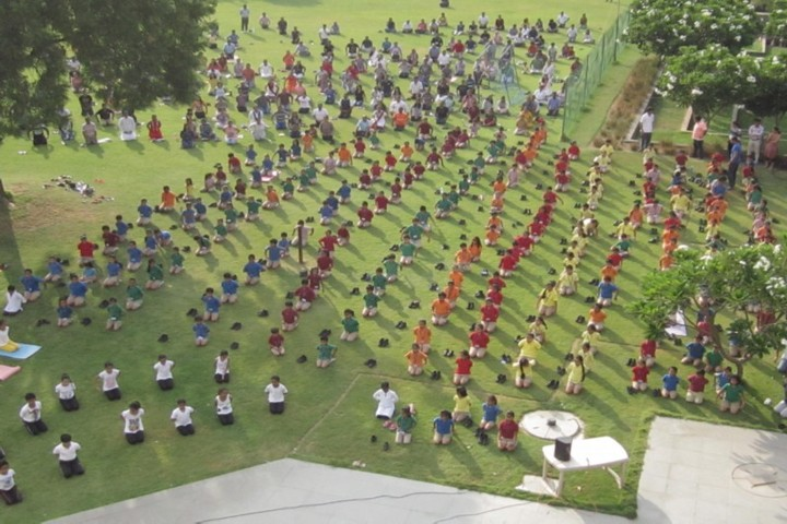 Nirma Vidya Vihar-International Day of Yoga