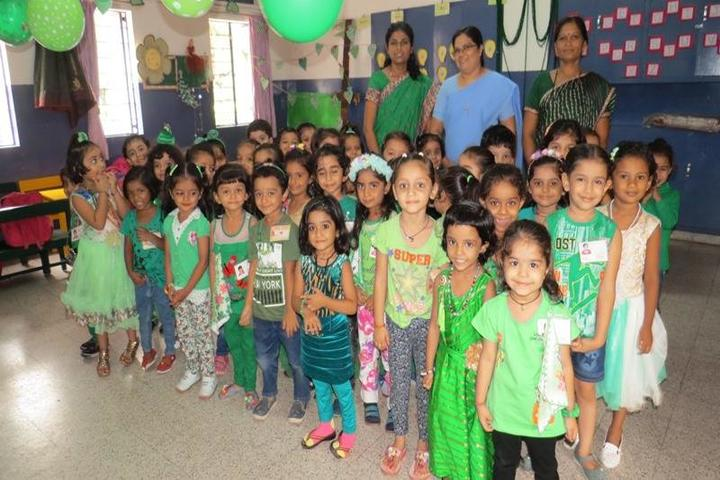 Nirmala Convent School-Green day