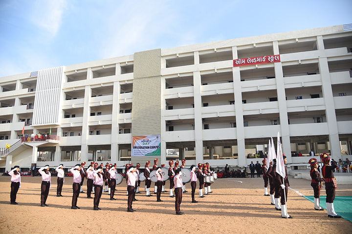 Om Landmark School-Republic day