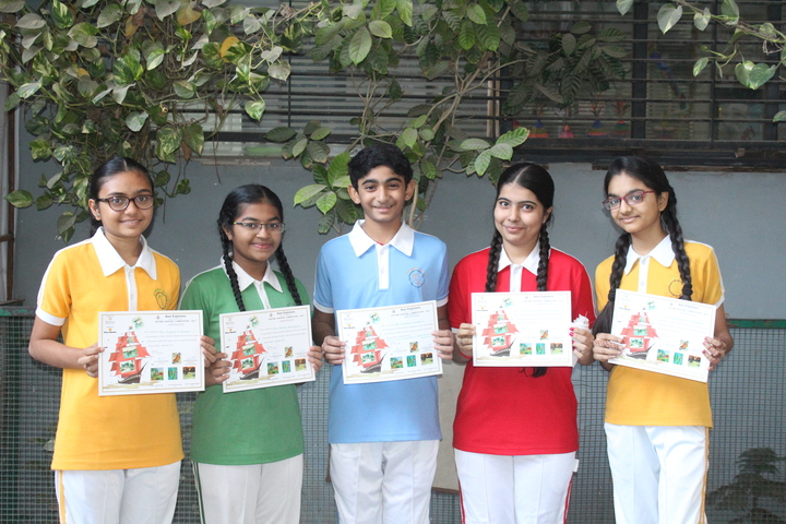 Om Shanti English Medium School-Art