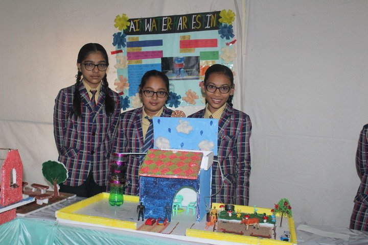 Om Shanti English Medium School-Exibhition