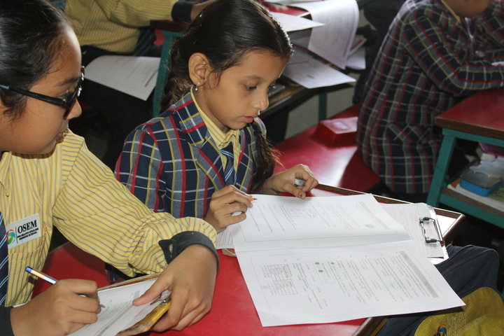 Om Shanti English Medium School-Talent exam