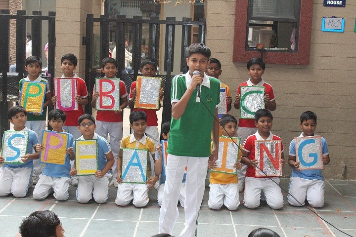 Om Shanti English Medium School-Speaker