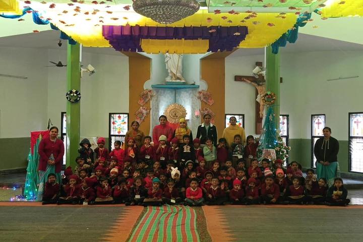 P.Chandra International School-Christmas Celebrations