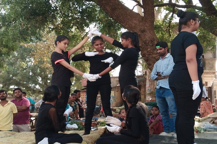 P.Chandra International School-Drama