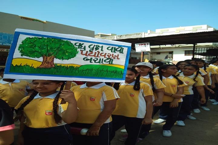 P.Chandra International School-Environment Day