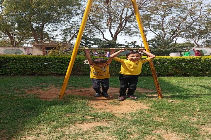 P.Chandra International School-Play Ground