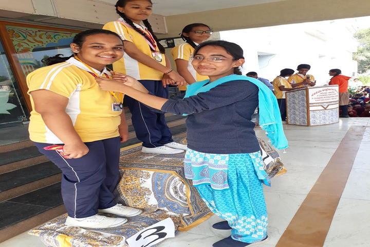 P.Chandra International School-Prize Distribution