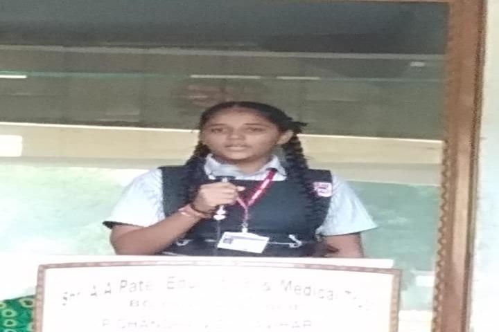 P.Chandra International School-Recitation Competition