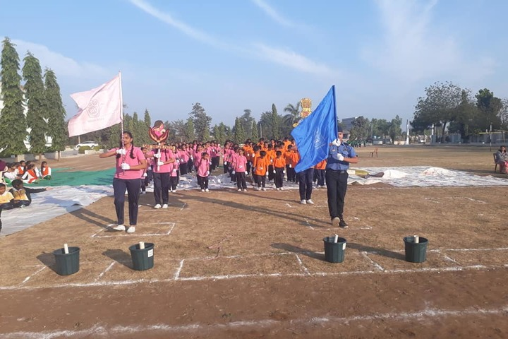 P.Chandra International School-Sports Meet