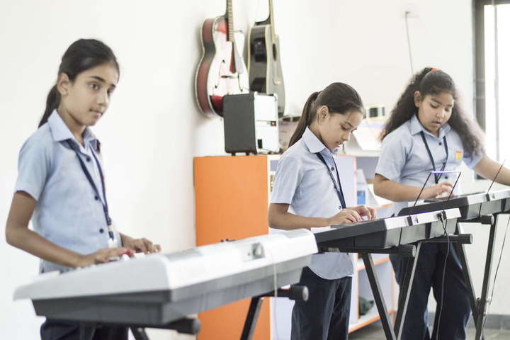 Pinnacle Public School-Music Room