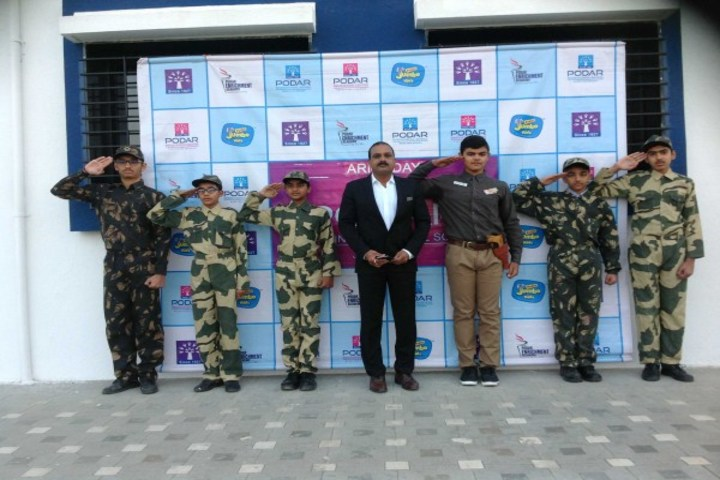 Podar International School-Army Day