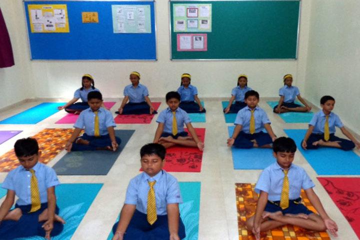 Podar International School-Yoga