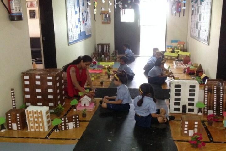 Podar International School-School Exhibition