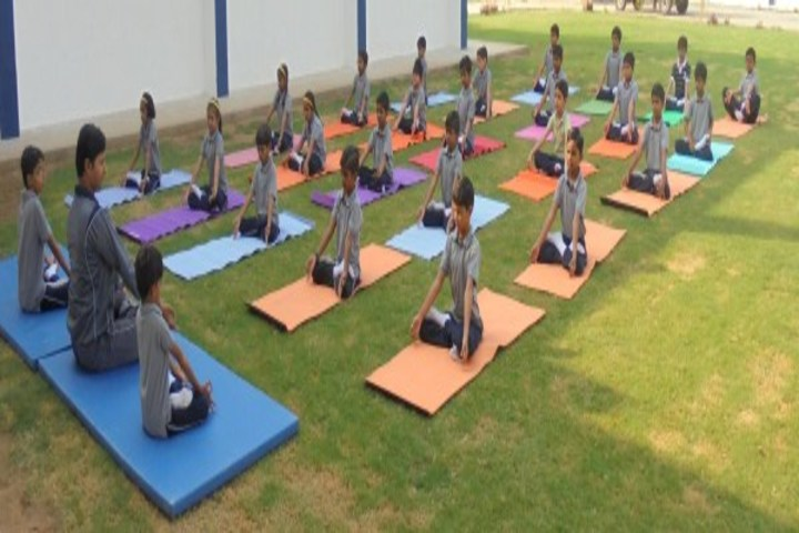 Podar International School-Yoga