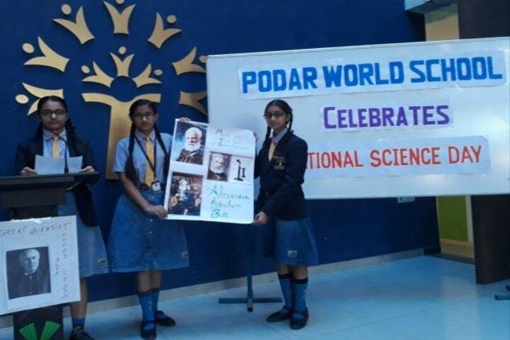 Podar World School-National Science Day