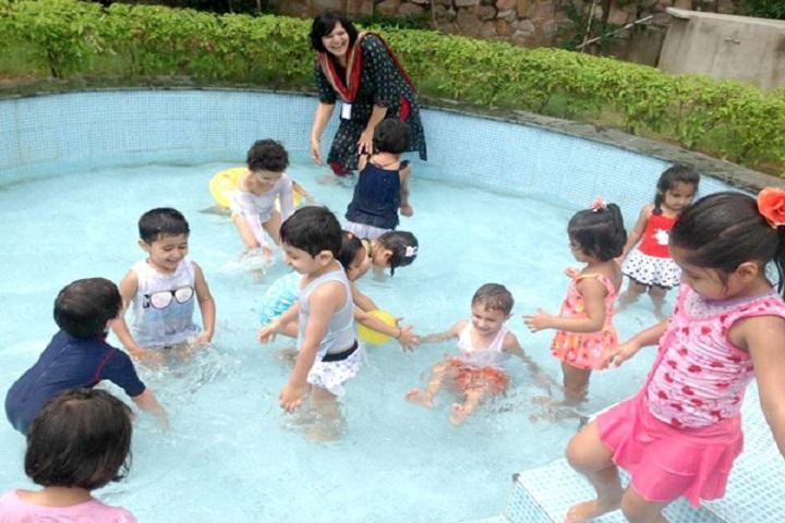 Podar World School-Swimming
