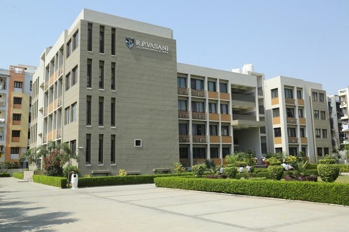 R P Vasani International School-Campus Entrance view