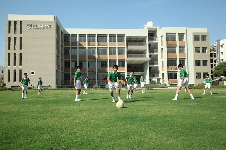 R P Vasani International School-Sports