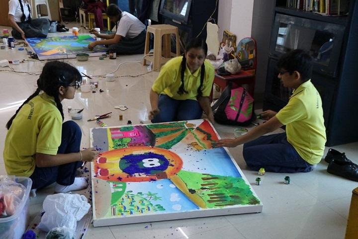 Radhika Educare School-Art