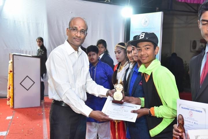 Rajashree Vidya Mandir-Prize Distribution