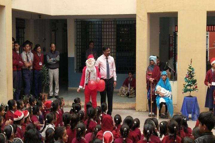 Rajashree Vidya Mandir-Christmas Celebrations