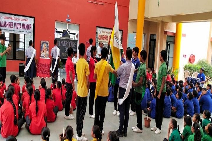 Rajashree Vidya Mandir-Investiture Ceremony