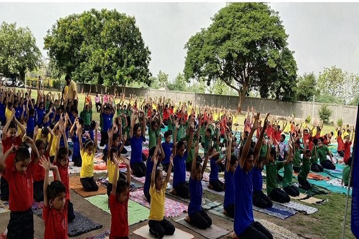 Rajashree Vidya Mandir-Yoga Day
