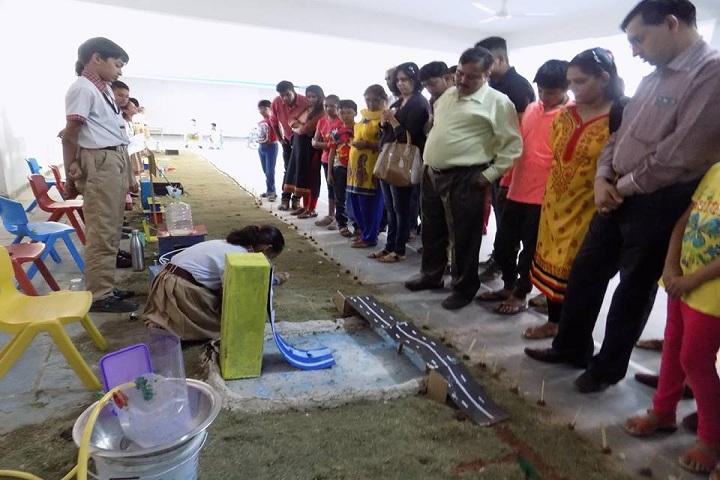 Rangoli International School-Exhibition