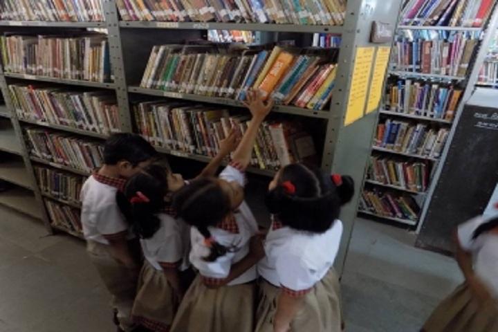 Rangoli International School-Library