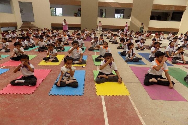 Rangoli International School-Yoga