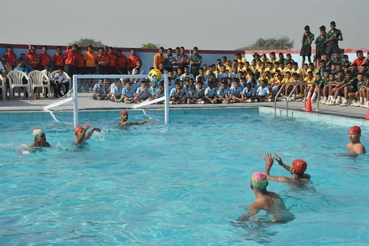 Sainik School-Water Polo