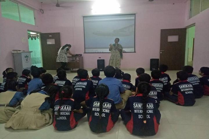 Sanskaar International School-Digital Classroom