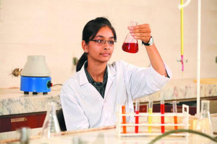 Sarvodaya Secondary School-Laboratory