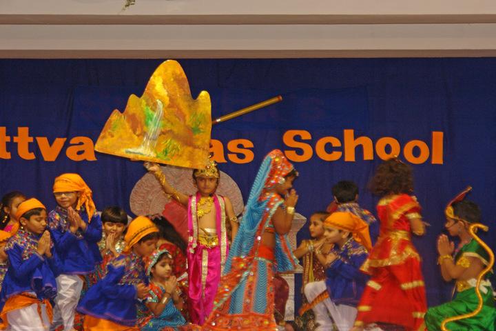 Sattva Vikas School-Janmastami