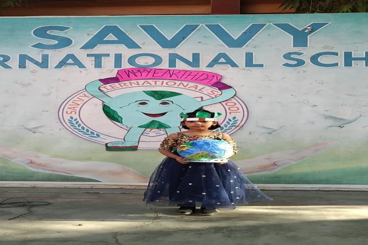 Savvy International School-Earth Day