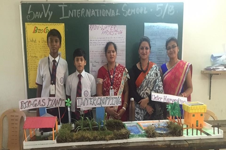 Savvy International School-Exhibition